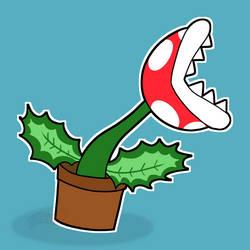 Piranha Plant by NashewNineSix
