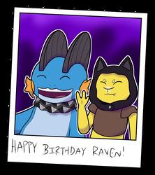 Happy Birthday Raven! by NashewNineSix
