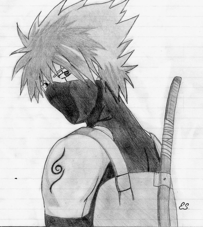 Anbu kakashi by erinehmazing on deviantart