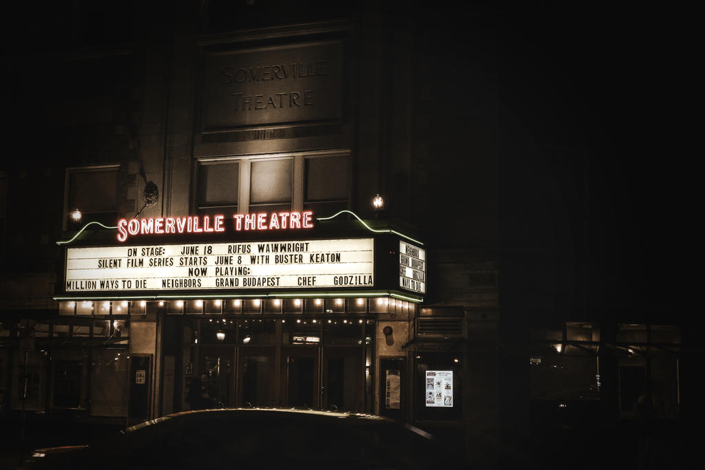 Somerville Theater by MadamSteamfunk