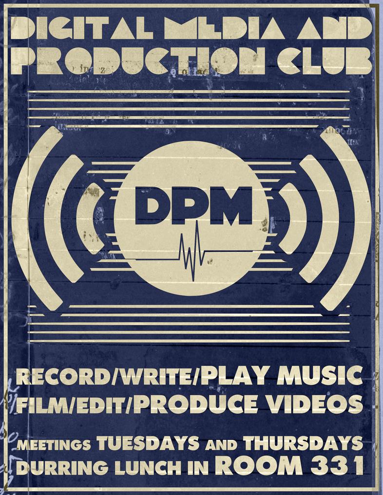 DPM II POSTER by MadamSteamfunk