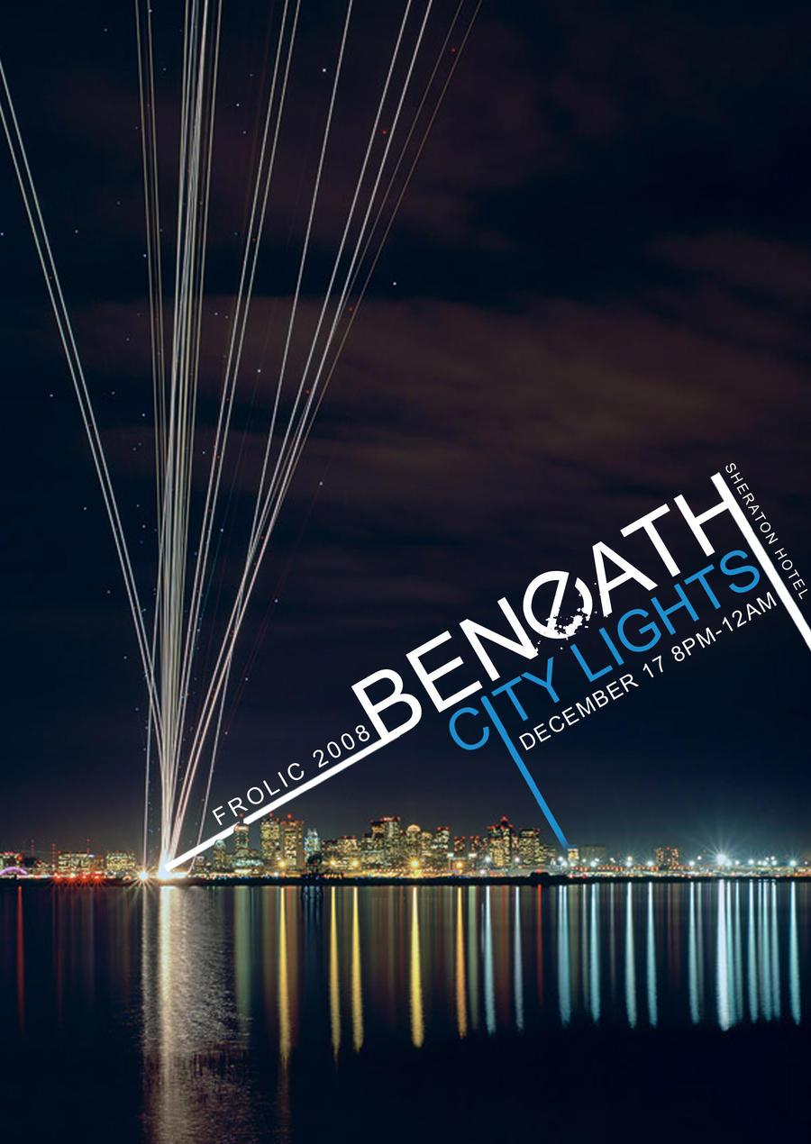 beneath city lights poster by owei yin on deviantart. Black Bedroom Furniture Sets. Home Design Ideas