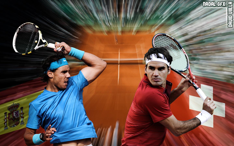 Федерер надаль смотреть онлайн 4 фотография