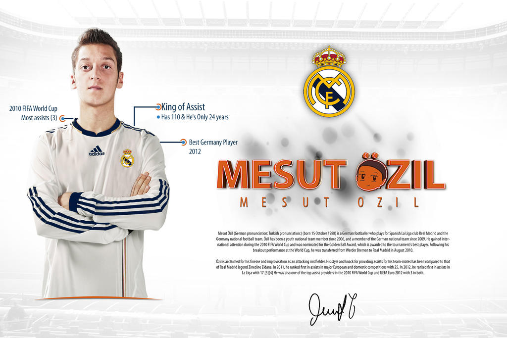 Mesut Ozil Record Wallpaper 2013 By MOH2011 On DeviantArt