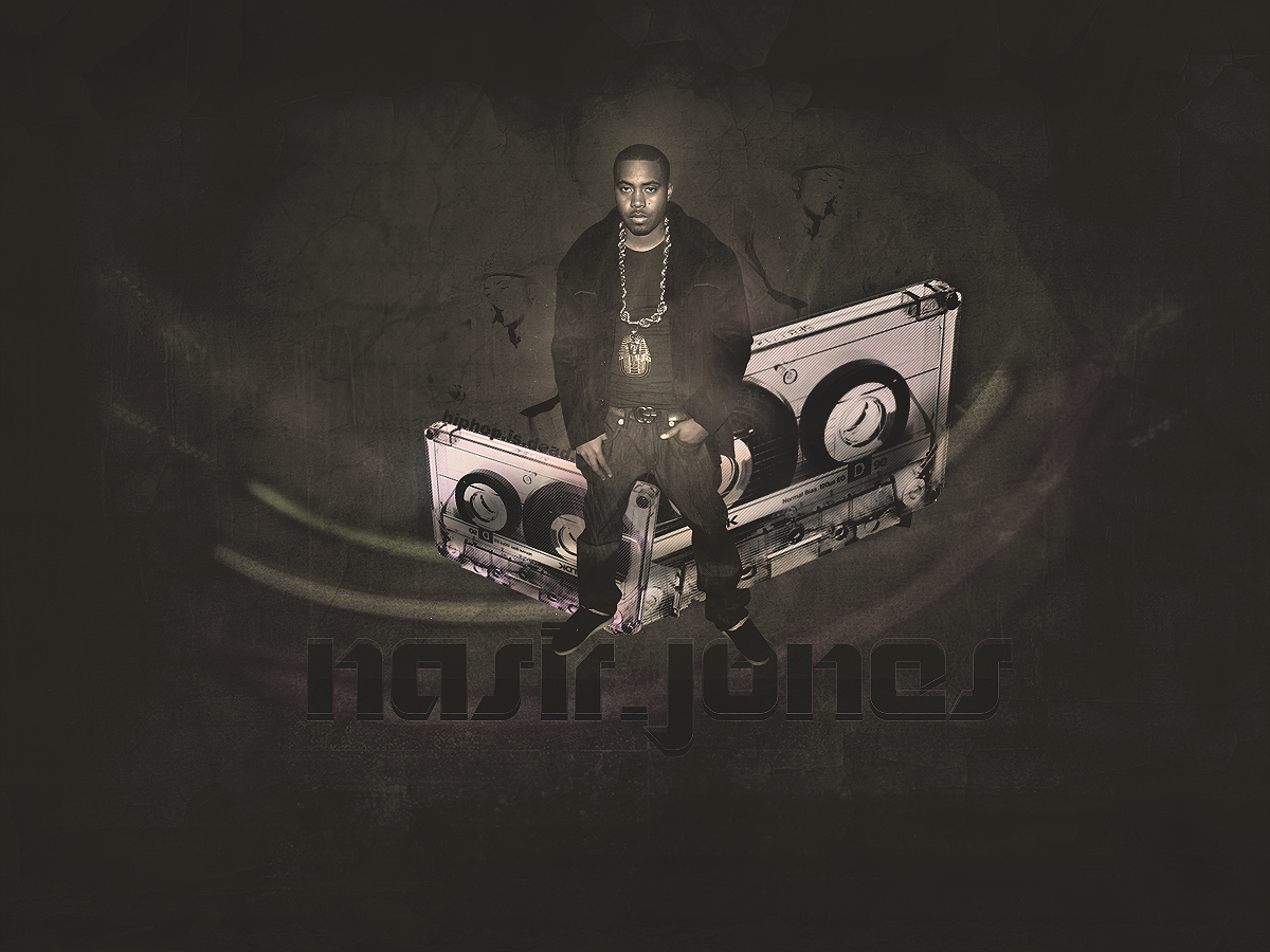 Nas Wallpaper V2 by mikeyrocks