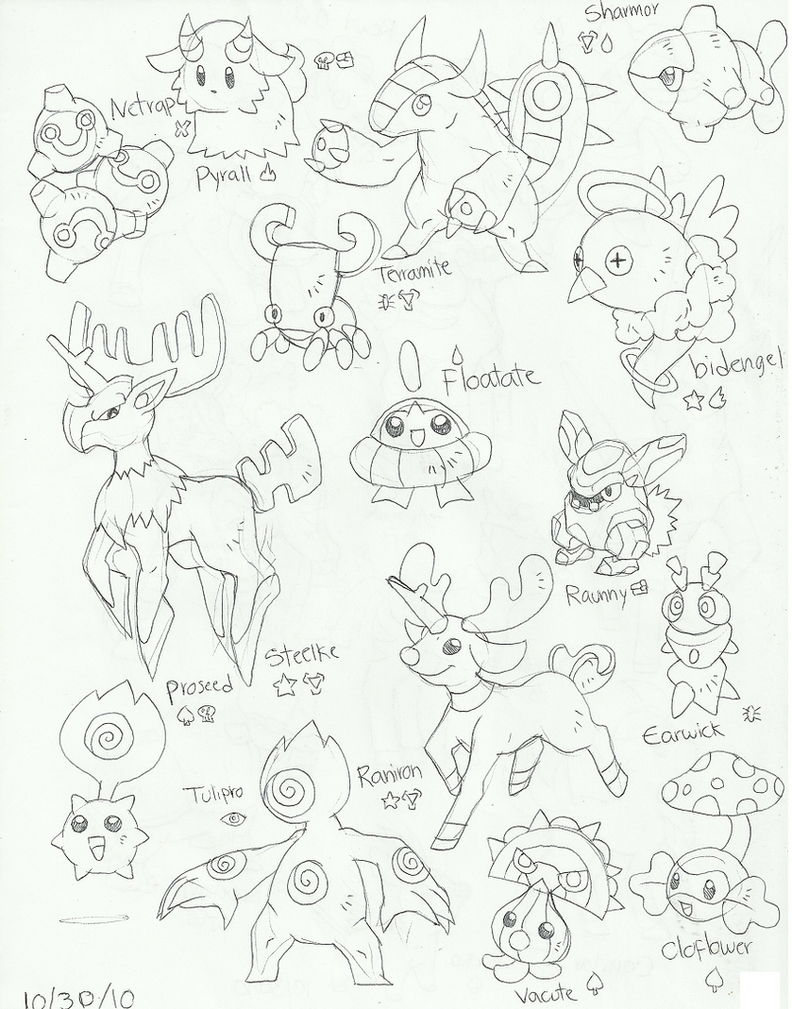 Fakemon23 by pumpkinking3001