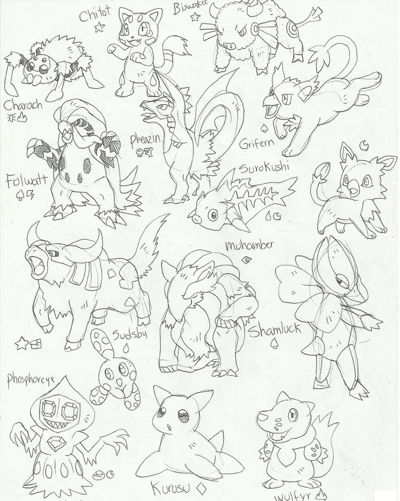 Fakemon26 by pumpkinking3001