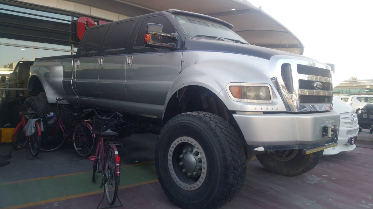 Ford F650 6 Door Limousine Pick Up Truck By Haseeb312 On Deviantart