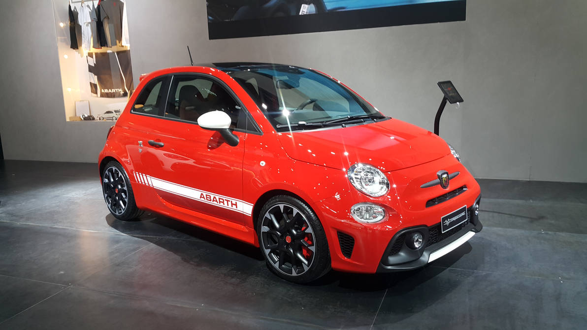 Fiat 500 Abarth 595 Competizione By Haseeb312 On Deviantart