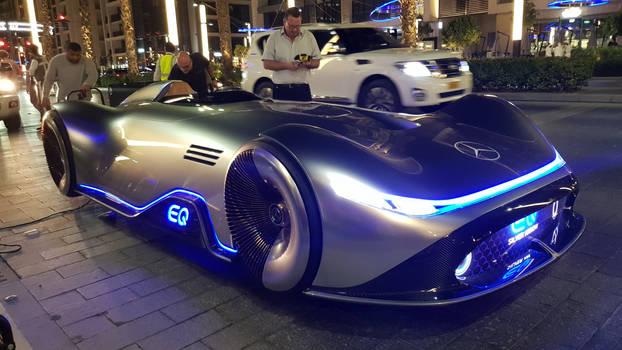 Mercedes Vision EQ Silver Arrow by haseeb312