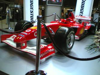 Ferrari F1 race car by haseeb312