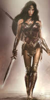 Official concept art from the Wonder Woman movie
