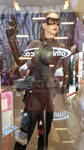 Dark Knight Rises Catwoman statue by haseeb312