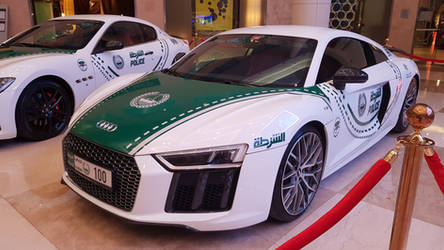 Audi R8 Police car