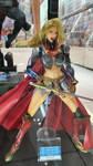 Supergirl Play Arts Kai figurine by haseeb312