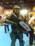 Halo Master Chief cosplay by haseeb312