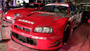 Supra and Skyline R34 GT-R Vspec II Nur