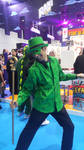 Riddler cosplay by haseeb312