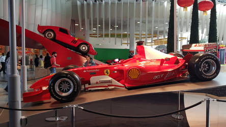 Ferrari F1 race car and 1962 250 GTO by haseeb312
