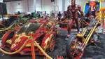 Ironman Campagna T-REX and Chopper by haseeb312