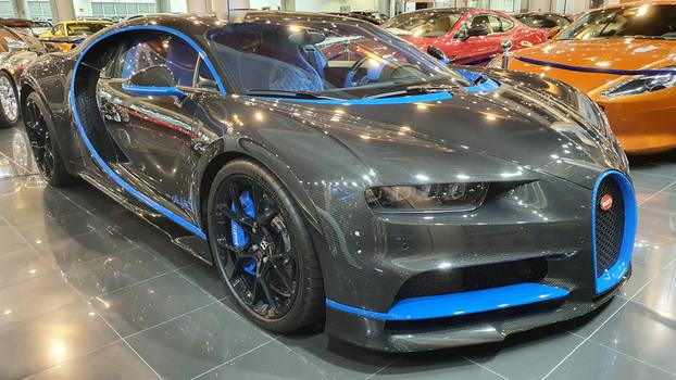 Bugatti Chiron carbon fiber body
