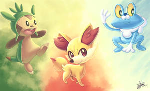 + Sixth generation starters + by KyseL