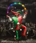 The clown by Araniart
