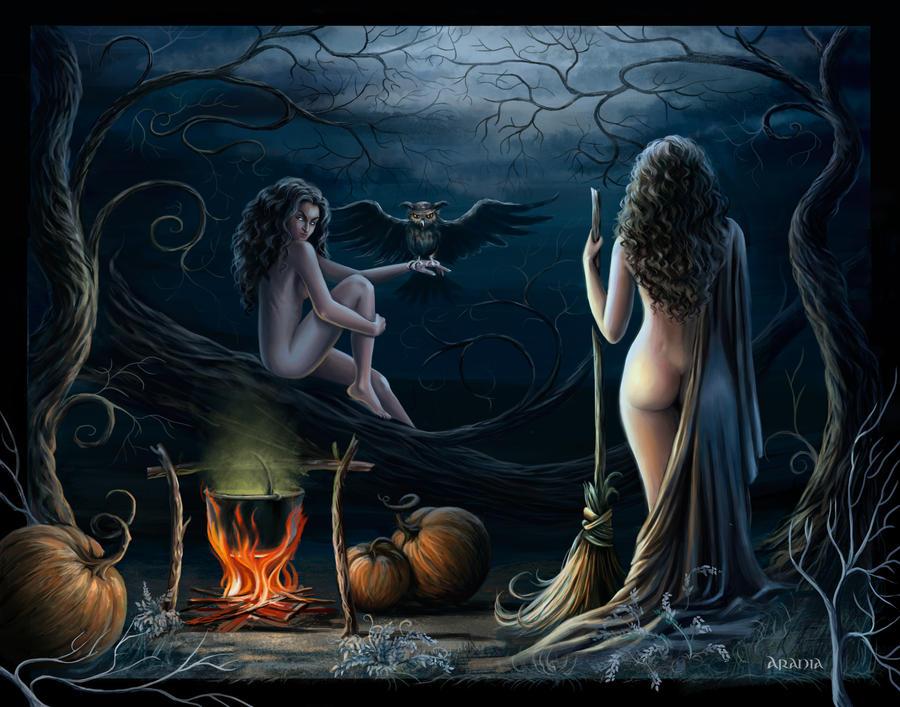 [Slika: the_witches_by_araniart-d4fi3xt.jpg]