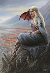 The girl dragon master