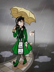 Dreary Rain by SuperNovaArts