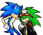 sonic and scourge