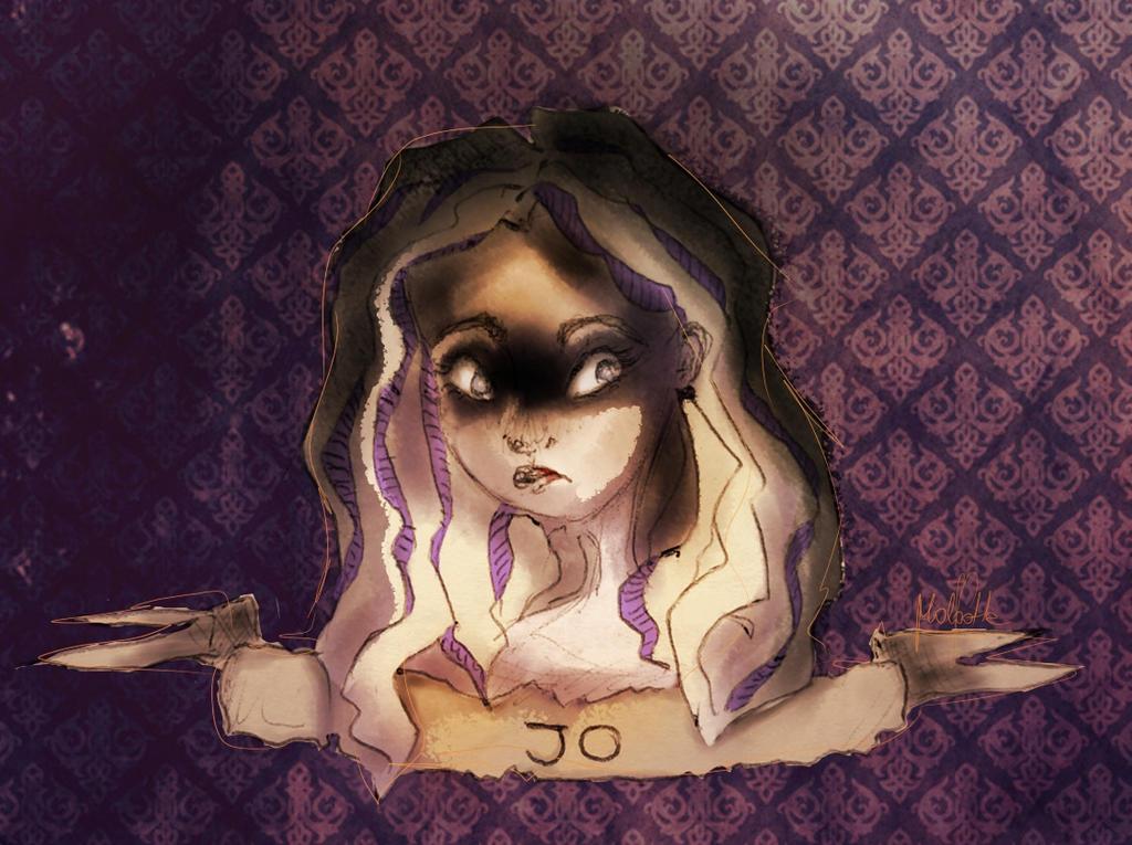 Jo gets darker by malootka