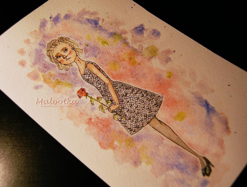 Prom dress by malootka