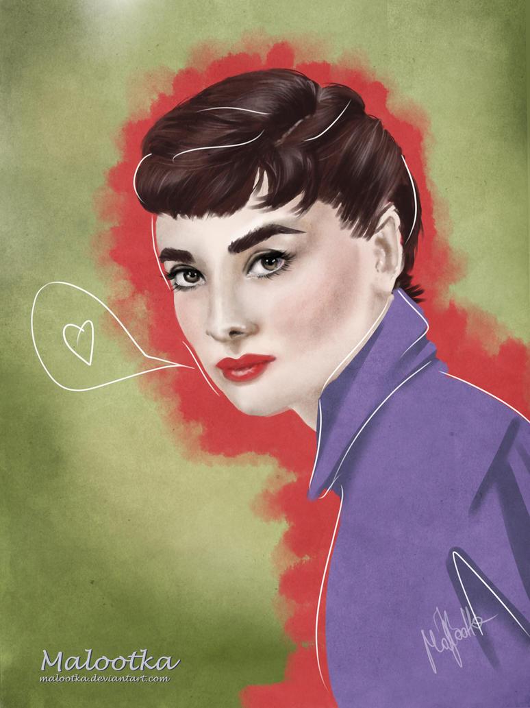 Audrey by malootka
