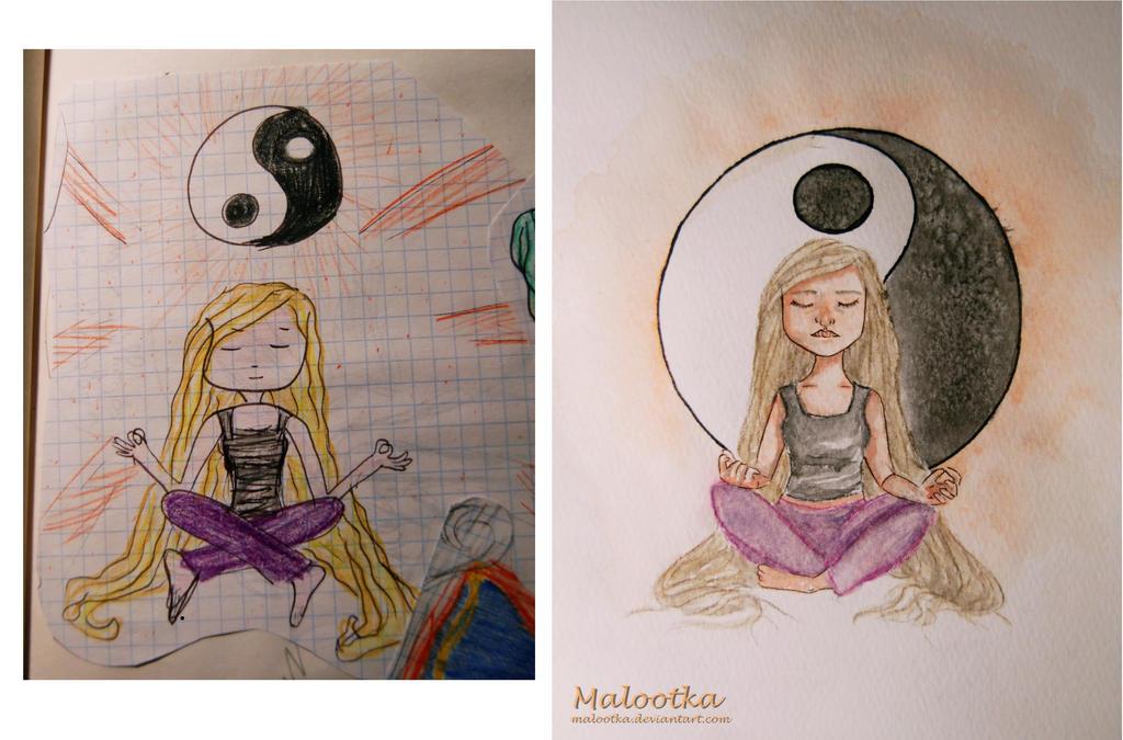 Yin Yang by malootka