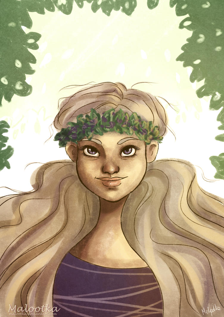 Flower crown by malootka
