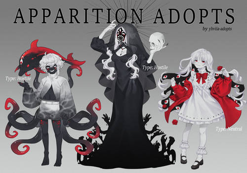 Apparitions Adopts [Custom Commissions OPEN]
