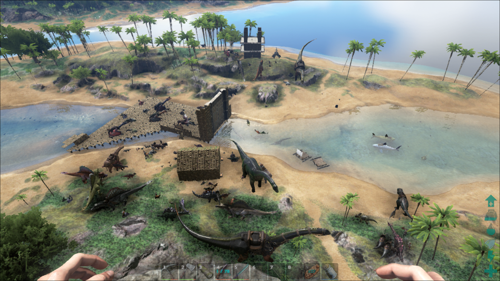 Ark Island Map In Foundations