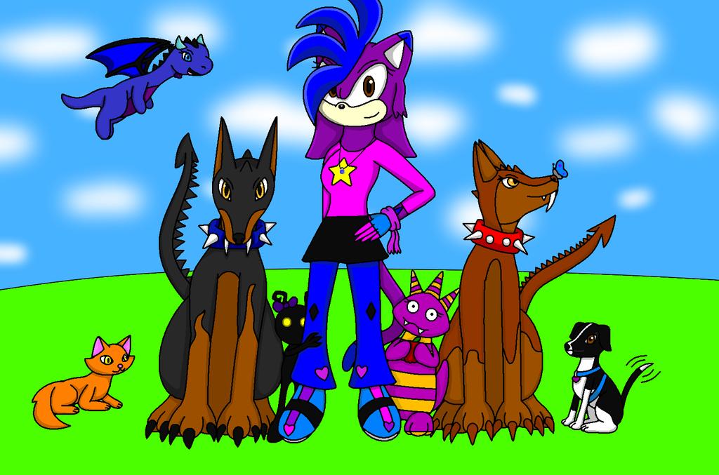 My Pets by sapphiredragon49