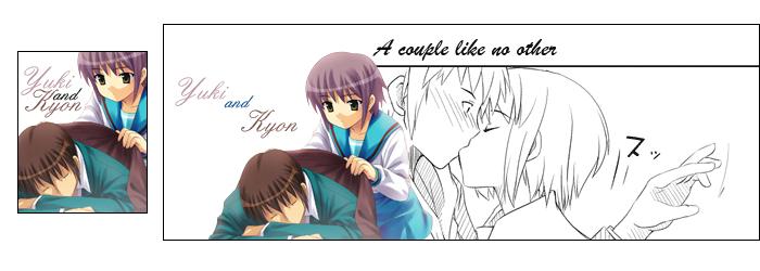 Kit Yuki X Kyon by Oniikun