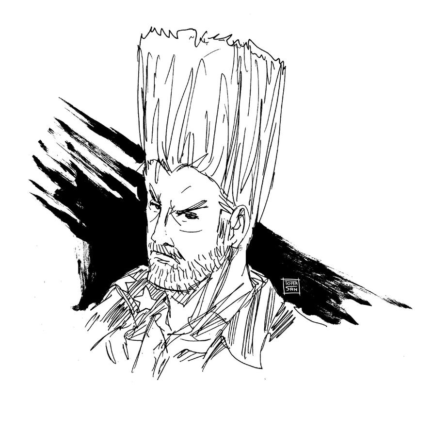 Tekken 7 Fan Art Paul 06-16-2017 by Toma-San-Art