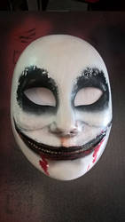 Creepy Mask by DarqueImages