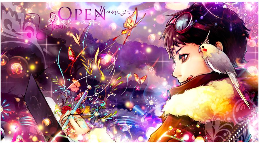 Galerie de Yumiji :) Open_you_dreams_for_ajisai_by_yumijii-d5ubseh