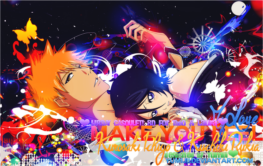 RheaKaryl 13 1 Wallpaper Make You Feel My Love Bleach IchiRuki By Yumijii
