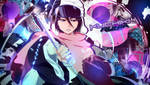 Wallpaper Kuchiki Rukia Bleach [Collab With Oxide] by Yumijii