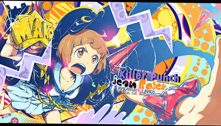 Wallpaper Killer Punch [Mako Kill La Kill FOR JRE] by Yumijii
