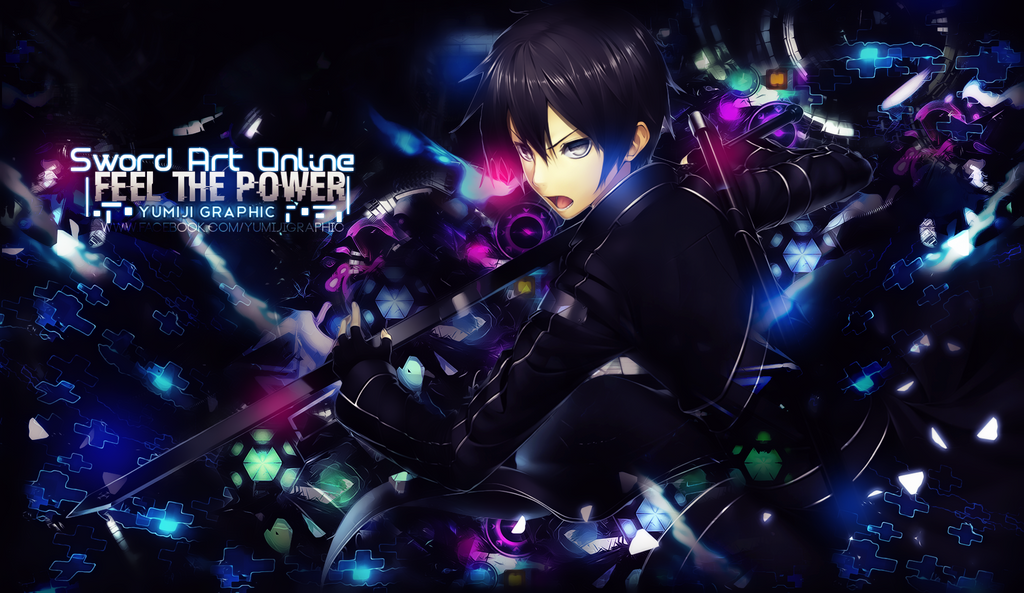 Wallpaper Feel The Power SAO By Yumijii