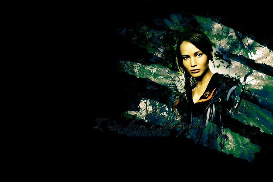Katniss Everdeen - Champion by GotMyAddictions