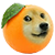Wow Doge Orange