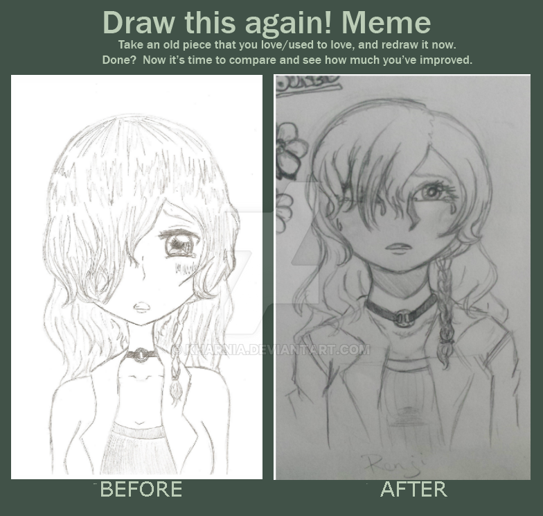 Meme  Before And After: Renji by Kharnia